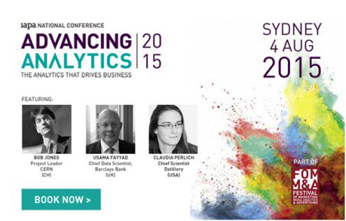 Advancing Analytics 2015  Sydney, Australia, August 4, 2015