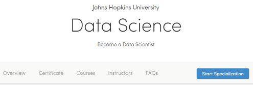 JHU Data Science