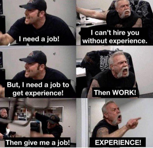 Job Experience Catch-22