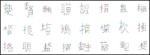 Kanji Examples
