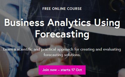 KDnuggets Free MOOC: Business Analytics Using Forecasting – enroll now