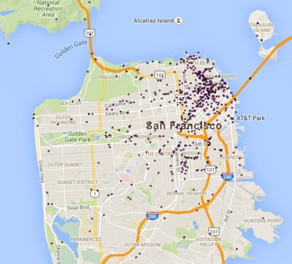 San Francisco movie sites