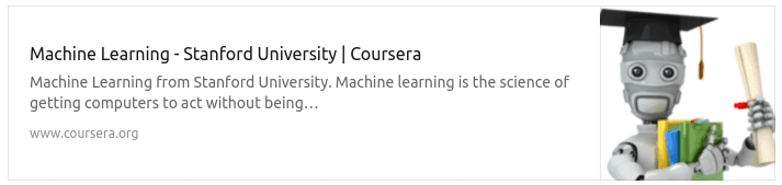 Ng Machine Learning MOOC