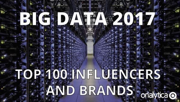 Onalytica Big Data Influencers