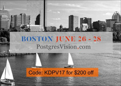You Scored 200 Dollars Off Open Source Data Event in Boston