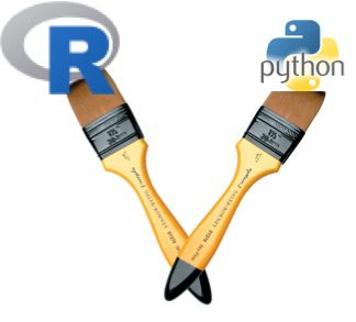 R and Python - both
