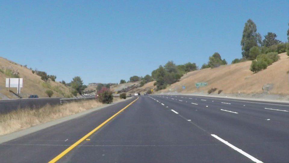 Road Lane Line Detection using Computer Vision models