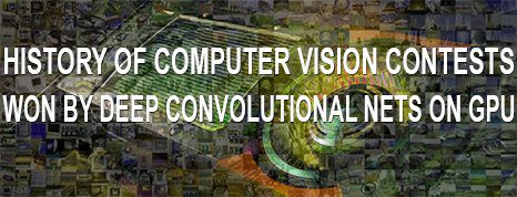 History of computer vision contests won by deep CNNs on GPUs