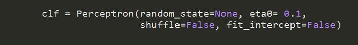 Python sci-kit code