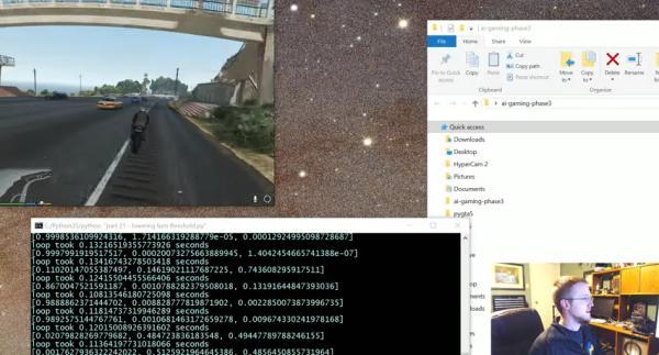 Python plays GTA V