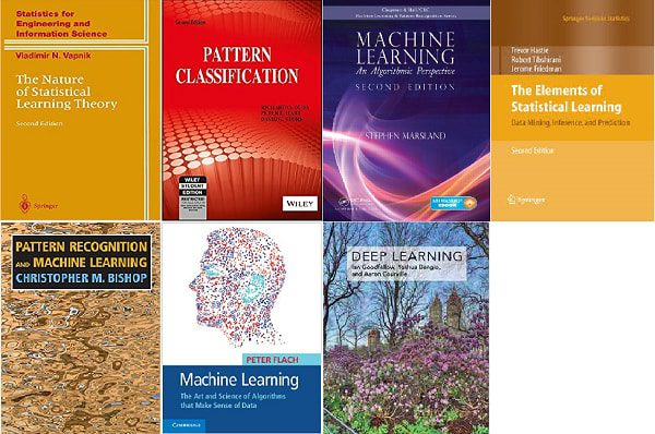 Seven Books to Grasp Mathematical Foundations of Data Science