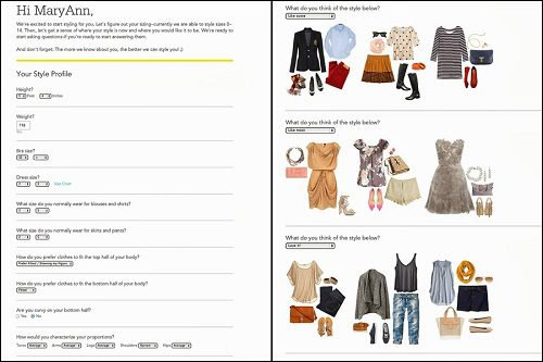 Interview brad klingenberg stitchfix on building Fashion style questionnaire sample