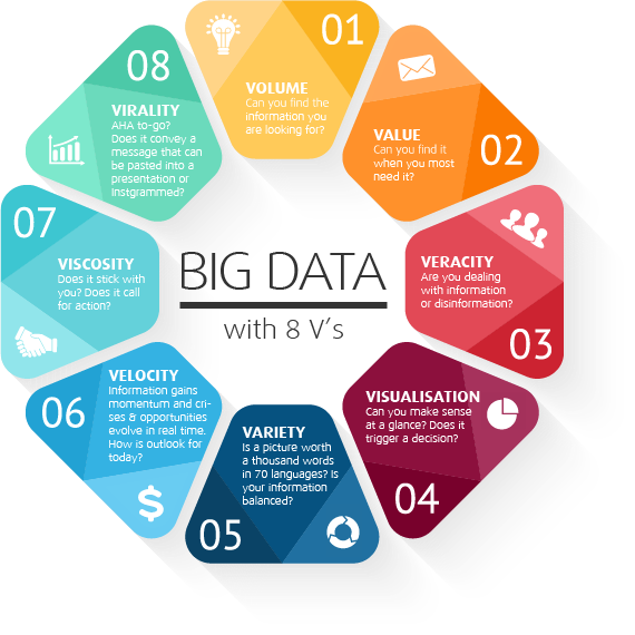 The 8 v's of Big Data