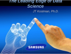 The Leading Edge of Data Science