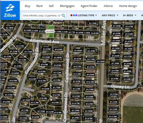 Big Data Monetization Lessons from Zillow Zillows Maps on